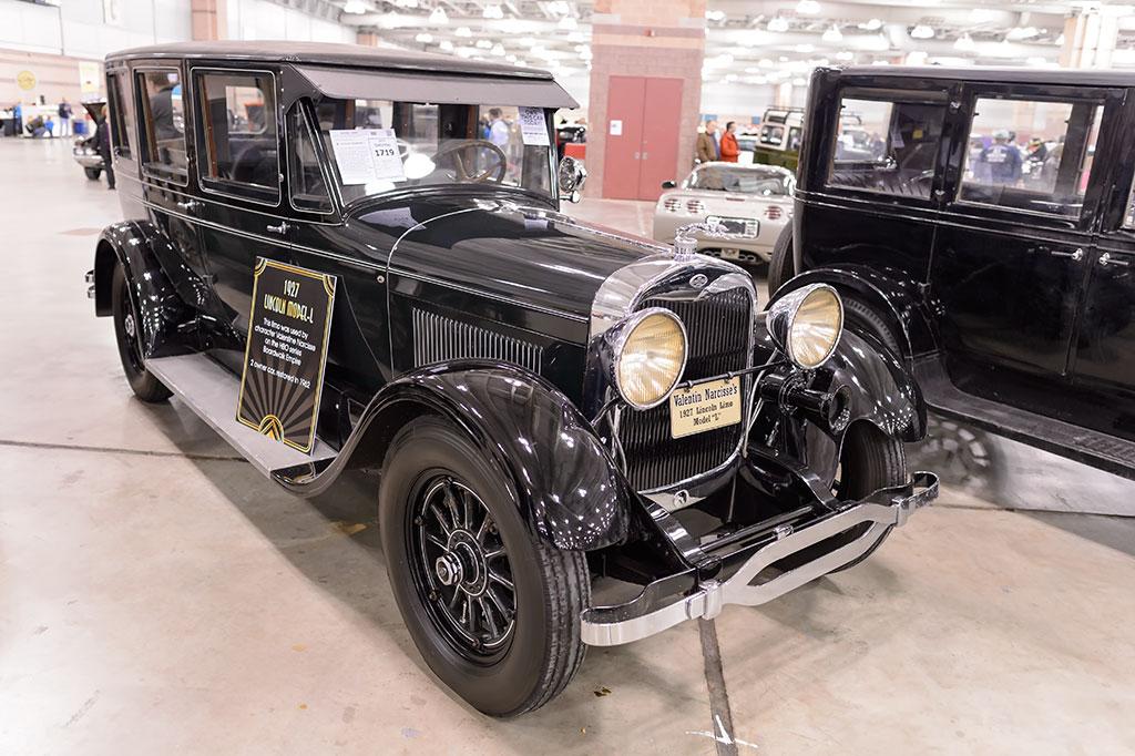 Boardwalk Empire's 1927 Lincoln Model-L