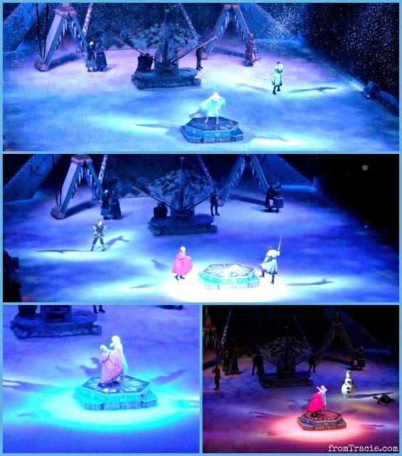 Anna Saves Elsa Frozen On Ice