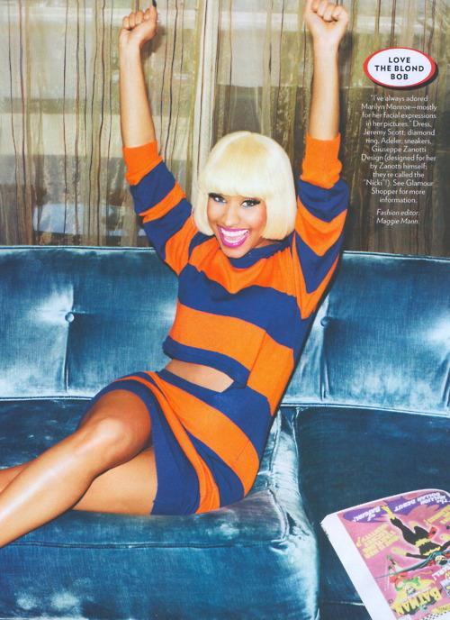 Nicki Minaj Spotted @ Glamour Magazine !