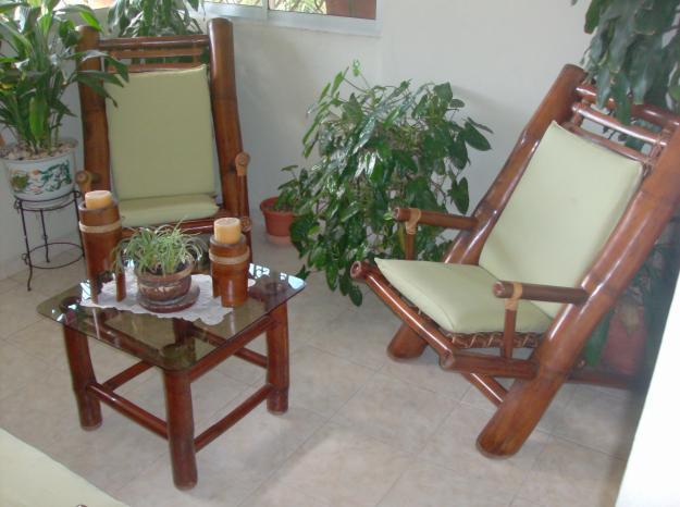 Sam de sinthya muebles en bamb for Muebles bambu