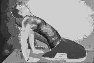 estiramiento de cuadríceps