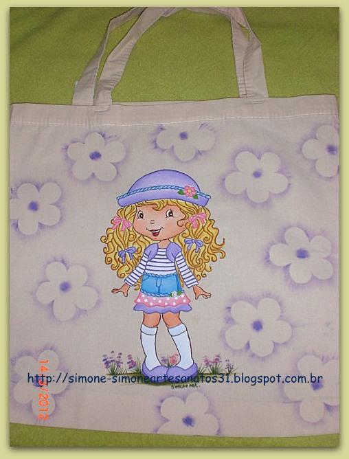 Bolsa De Tecido Cru : Simone artesanatos bolsa de tecido cru framboesinha