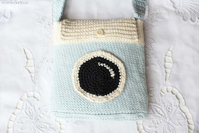 Hopeful Honey Craft, Crochet, Create: Camera Satchel Bag ...