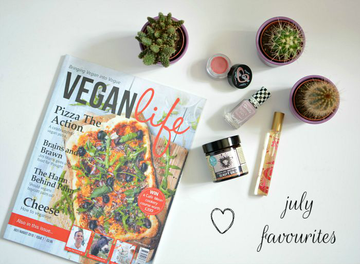 July cruelty-free and vegan favourites