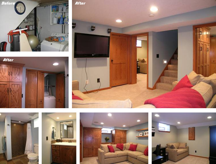 Whilly bermudez for home improvement america 10 basement remodeling tips - Basement makeover ideas ...