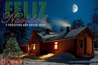 Postales de Feliz Navidad y Prospero Año Nuevo 2013