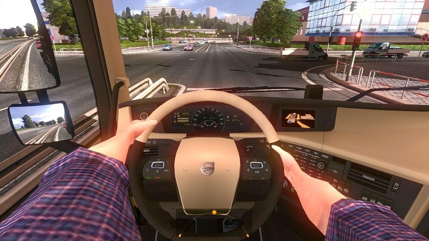 Как сделать чтобы руль был прямо