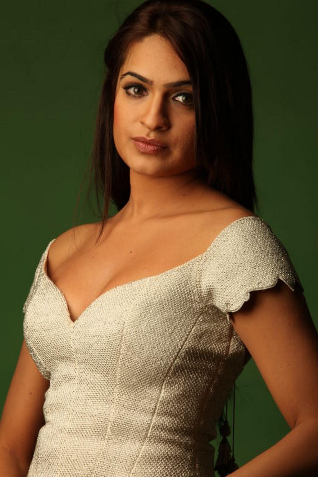 Super-sexy Aditi Agarwal strikes a pose during a photoshoot.
