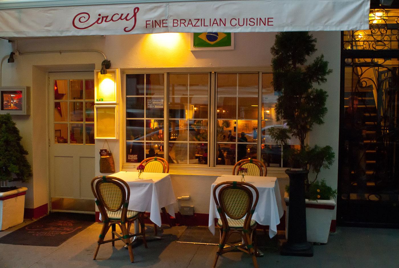 Circus restaurant nyc brazilian cuisine foodie adventures