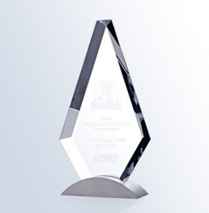 Optic Crystal Royal Diamond Award