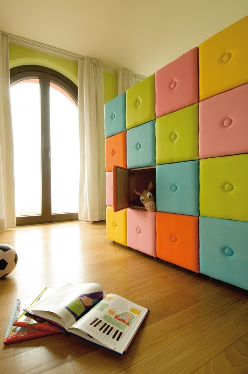 15 creative storages and innovative storage systems for Shelving for kids room