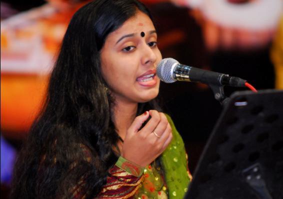 Gazal Concert by Play back singer Sithara Krishnakumar