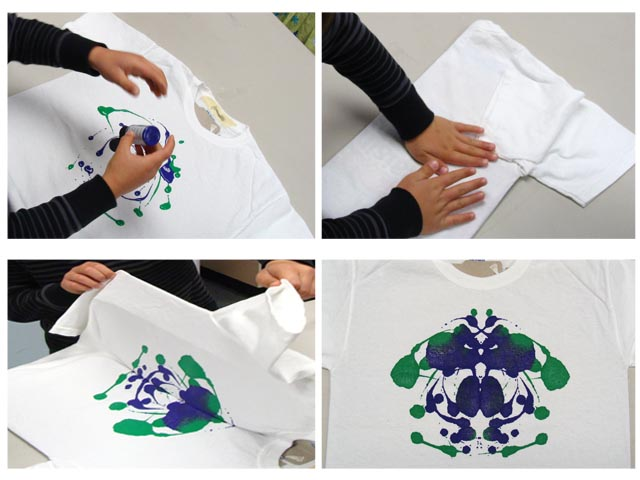 ink blot t shirt party 50 kids50 shirts