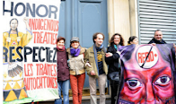 Photos: France Solidarity with American Indians COP21
