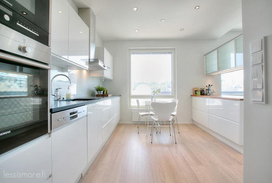 Idea dorothea un espacio en blanco con alfombras de ikea - Cocina blanca mate ...