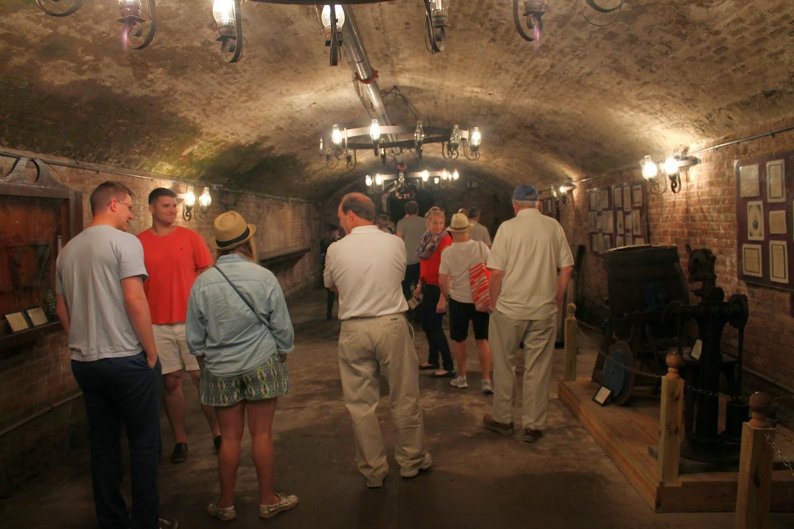 Brotherhood Winery cellar
