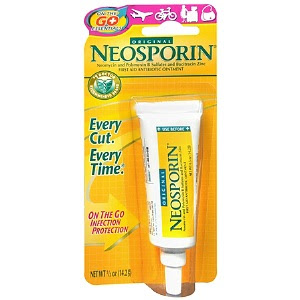 Neosporin, Neosporin ointment, Neosporin First Aid Antibiotic Ointment, ointment, antibiotic ointment, scar treatment, skin, skincare, skin care