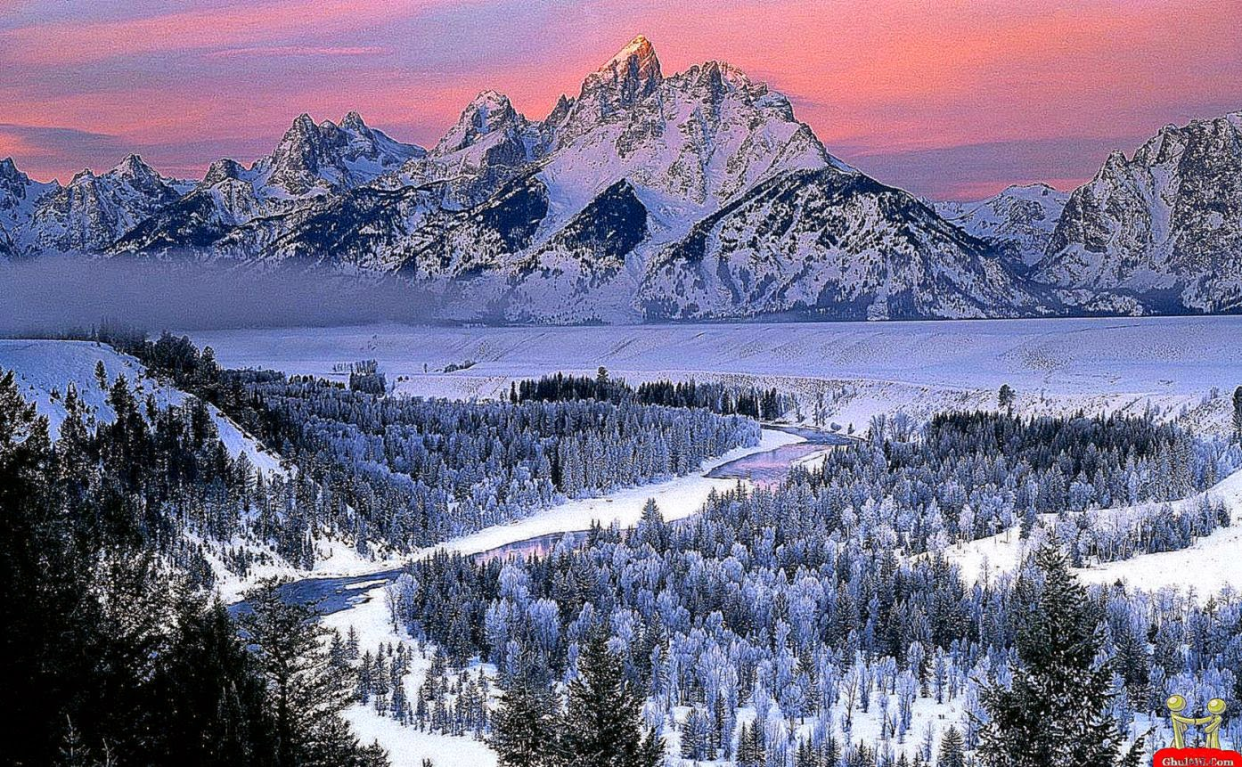 Beautiful Snow Mountains Wallpaper
