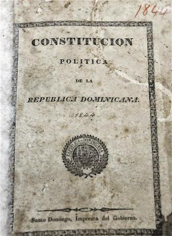 La primera Constitución Dominicana