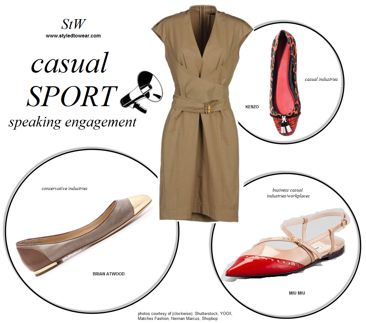 What to wear for a panel discussion that requires casual sport wear