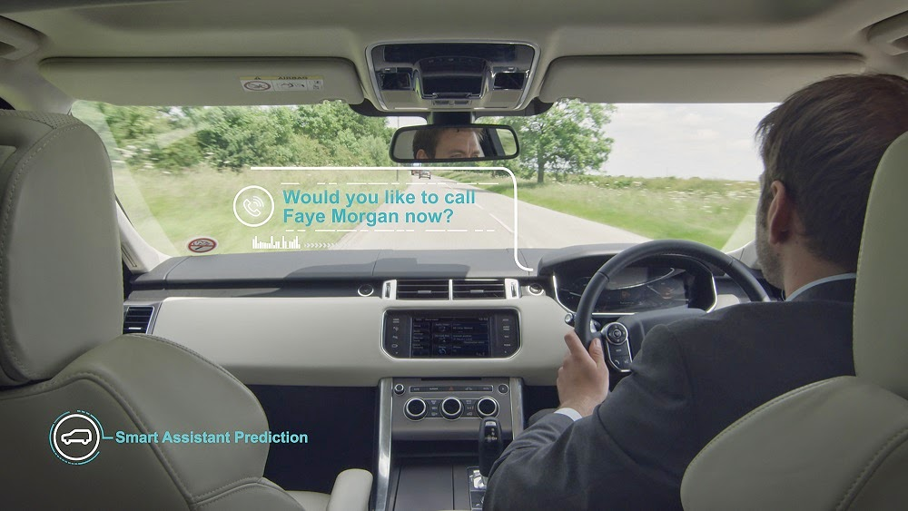 Jaguar Land Rover self-learning smart car
