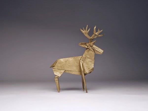 origami deer 3d origami for kids