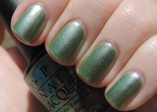 OPI Visions of Georgia Green