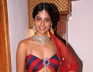 Bindu Madhavi Spicy Saree Photos