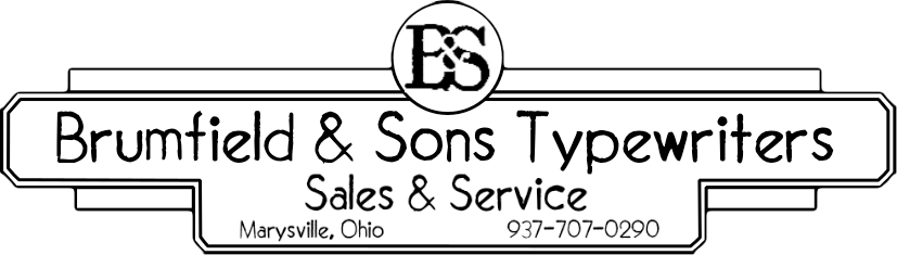 Brumfield & Sons Typewriters