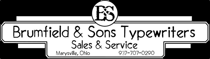 Brumfield & Sons Typewriters