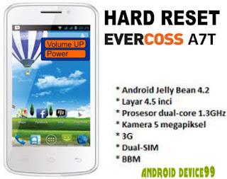 Hard Reset Evercoss A7T Buka Pola Kunci