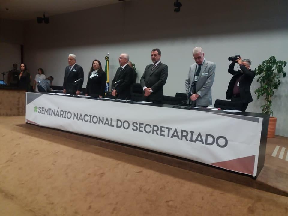 Seminário Nacional do Secretariado, Auditório Nereu Ramos-Câmara dos Deputados-Brasília-DF