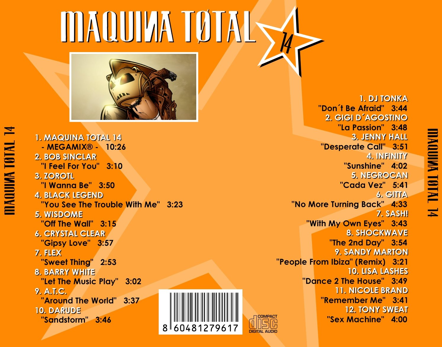 01 Maquina Total 9 Megamix Mp3 MP3 Download
