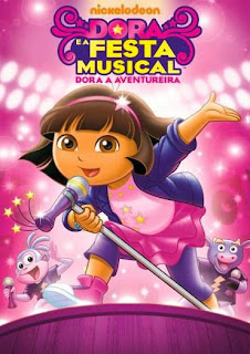 Dora A Aventureira: Dora e A Festa Musical - DVDRip Dublado