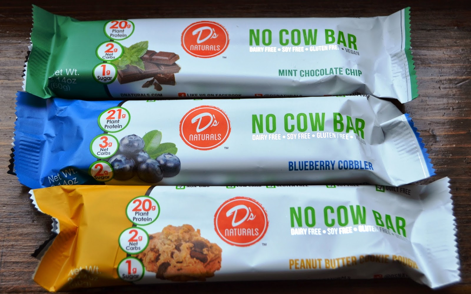 D's Naturals No Cow Bar