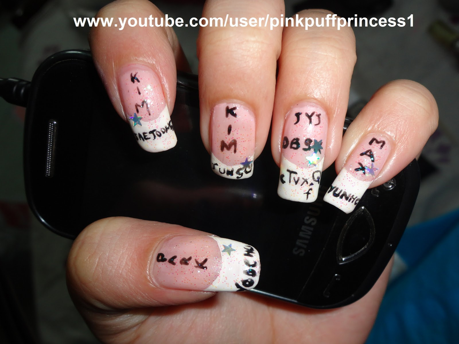 Nail Designs With Names On Them