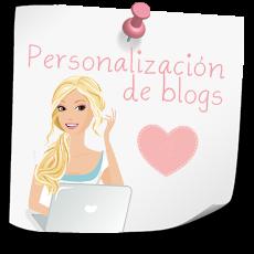 Personalización de blogs