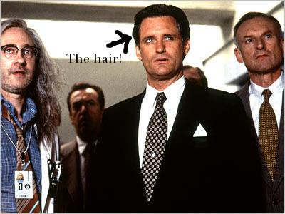 Bill Pullman's hair