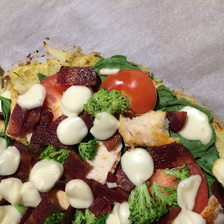 Healthy Homemade Pizza 2