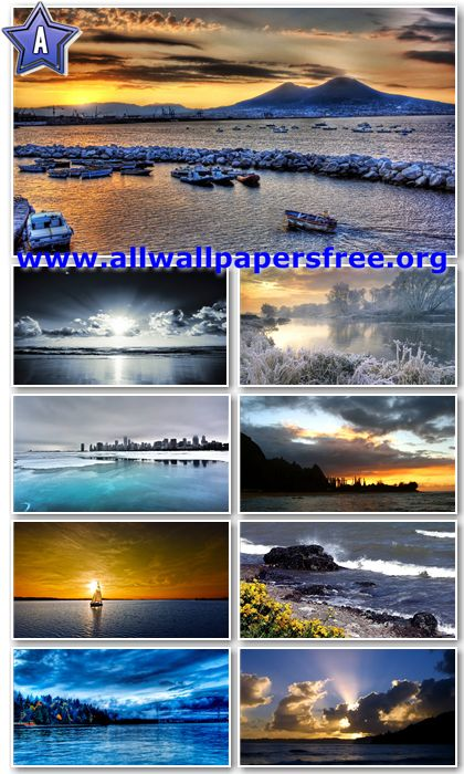 30 Stunning Waterscapes Widescreen HD Wallpapers 1920 X 1200 [Set 4]
