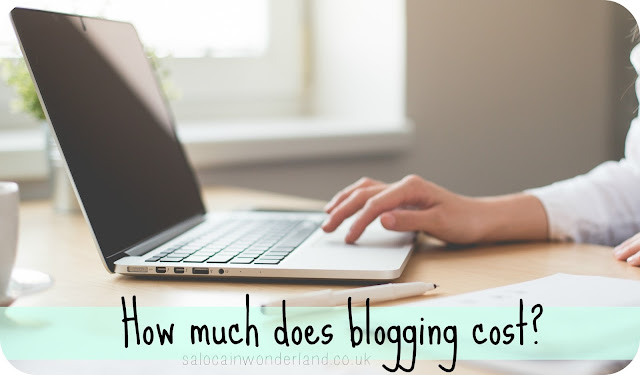 how much does it cost to blog