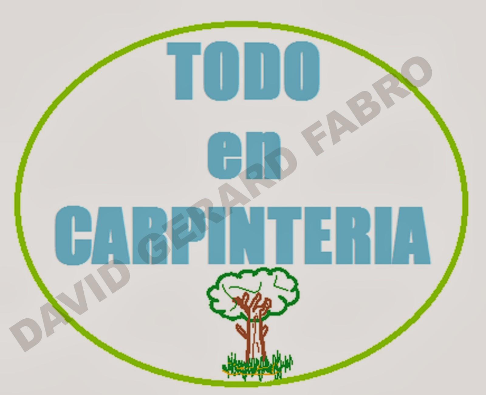 Logotipo de todoencarpinteria.es