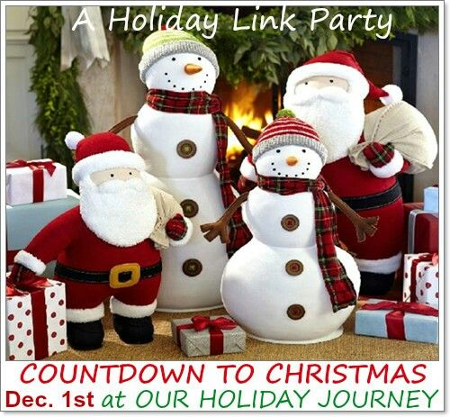 Countdown to Christmas Linky Party!