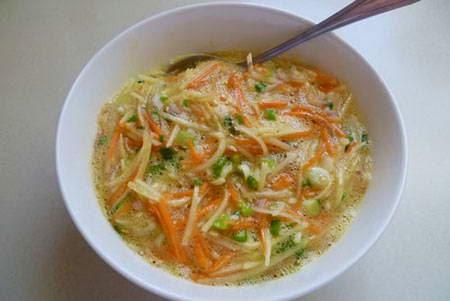 (Trứng Chiên Rau Củ)-  Fried Egg with Vegetables