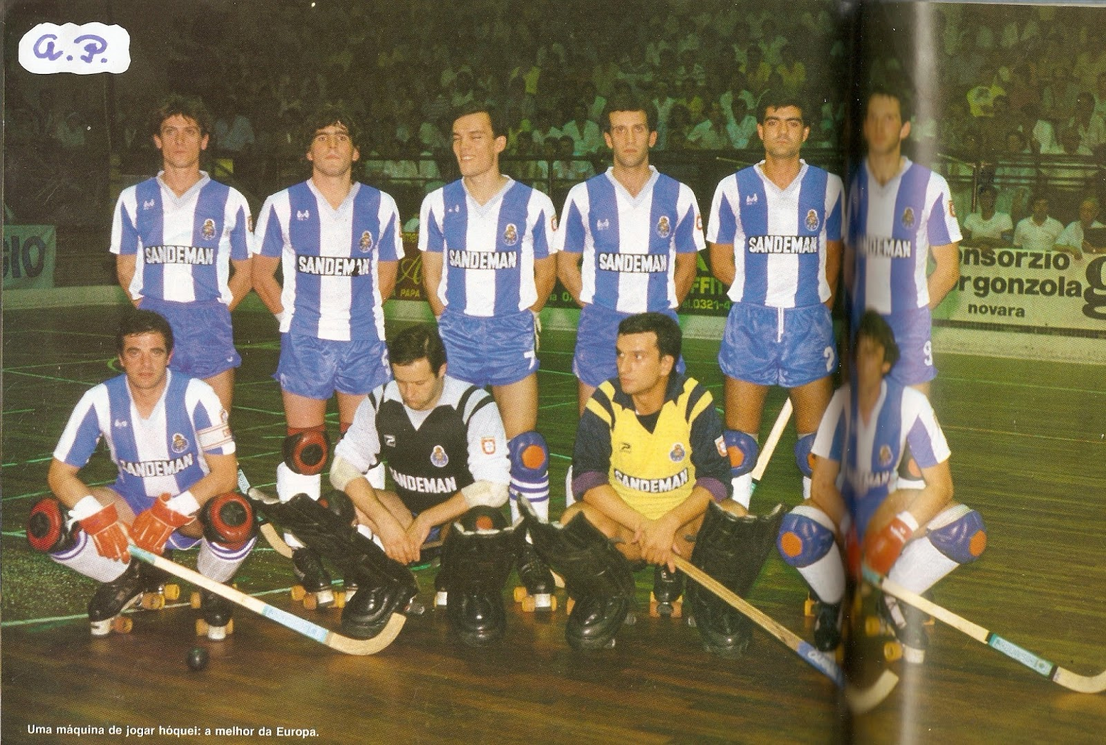 fba7e91efe O hóquei em patins há muito era um desporto com inúmeros adeptos em  Portugal