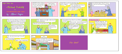 The Ahmad Family comic for Muslim children - The Remarkable Umm Jamal