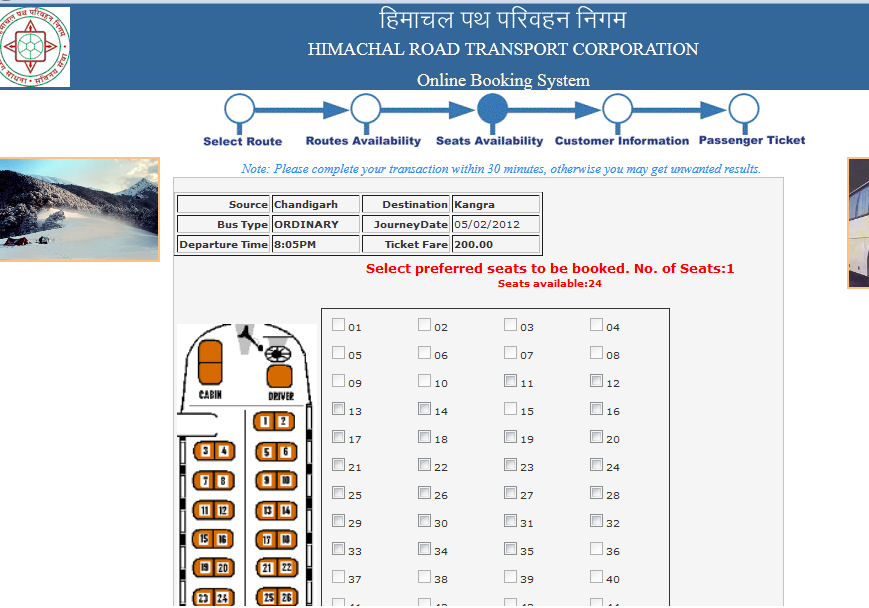 How to book HRTC bus tickets online? - Dev Bhoomi Himachal