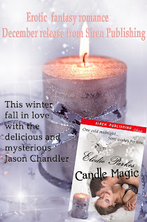 December release from Siren Publishing, Candle Magic, erotic fantasy romance