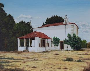 Pintura de António Fagulha - Capela de Nossa Senhora da Piedade