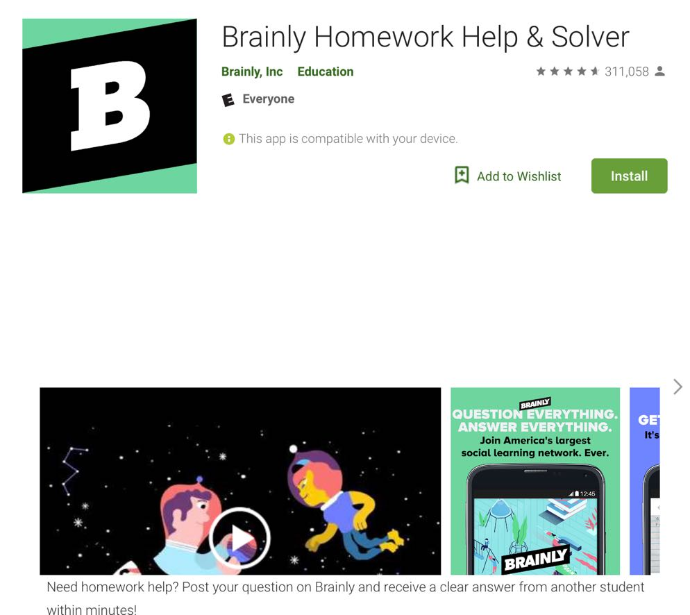 ucet free android app: brainly homework help & solver - ucet